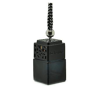 مصمم في سيارة الهواء معطر معطر الزيت ScentInspiBlue بواسطة (Lancome La Viesest Belle بالنسبة لها) العطور. غطاء أسود، زجاجة سوداء 8ml