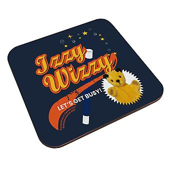 Sooty Izzy Wizzy Lets Get Busy Magic Star Trick Coaster