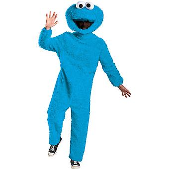 Men's Plush Cookie Monster Prestige Costume