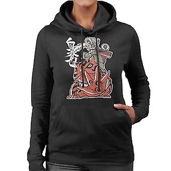 Naruto Jiraiya Riding Gama Women's Hooded Sweatshirt