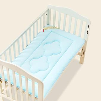 Newborn Bed Mat Baby Mattress Crib Toddler Bedding Comfortable Pure Color