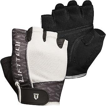 Lift Tech Fitness Women's Reflex Weight Lifting Gloves - Black/White/Gray