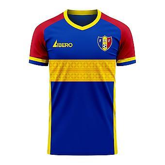 מולדובה 2020-2021 ערכת כדורגל קונספט ביתי (Libero)