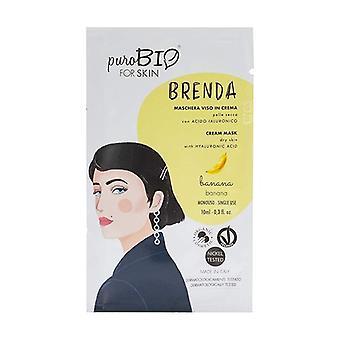 Brenda Dry Skin Mask - Banana 02 10 ml of cream (Banana)