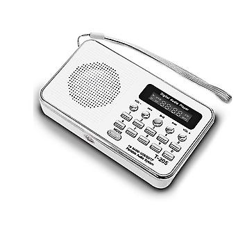 Portable Receiver, Usb Stereo Mini Speaker Fm Radio