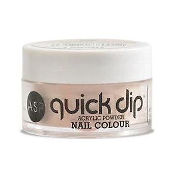 ASP Quick Dip Acrylique Trempette Poudre Nail Colour - Cream Soda