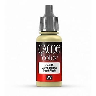 Vallejo Game Color 17ml Acrylic Paint 35 Dead flesh