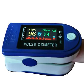 Pulse Oximeter Four-color Screen Pulse Fingertip Heart Rate Meter Oximeter