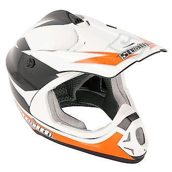 Stealth HD204 GP Replica Kids MX Helmet - Orange