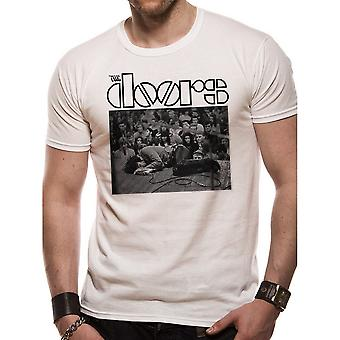 The Doors Adults Unisex Adults Jim On The Floor T-Shirt