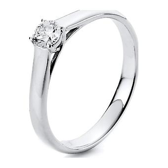 Luna Creation Promessa Solitairering 1A442W856-1 - Ancho del anillo: 56