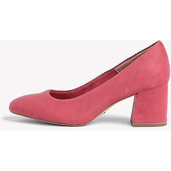 Scarpe con tacco medio rubino pallido