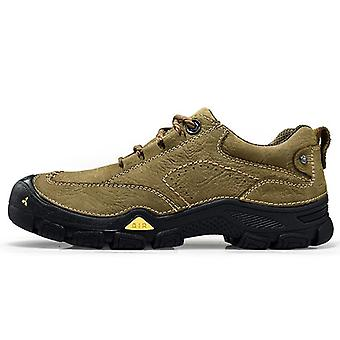 Men Climbing Mountain Outdoor Sports Boots, Non-slip Breathable Hiking Sneakers