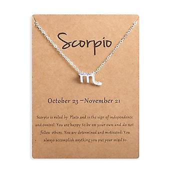 Men, Women Horoscope Zodiac Sign Gold Pendant, Necklace, Jewelry Kids