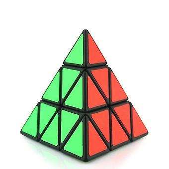 Triangle Classic Professional Speed Pyramid Magic Cube Puzzle Cubo (a)