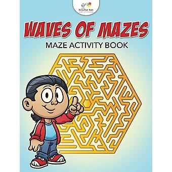Waves of Mazes - Maze Activity Book by Kreative Kids - 9781683775683 B
