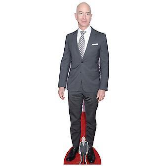 Jeff Bezos Celebrity Lifesize Cardboard Cutout / Standee
