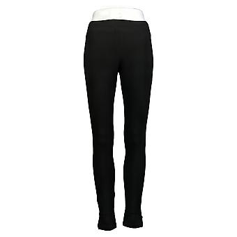 Utopia By HUE Leggings Utopia Cotton-Blend Black 692169