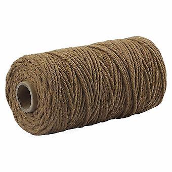 Cuerda de cuerda de colores Beige Twisted Craft Macrame String