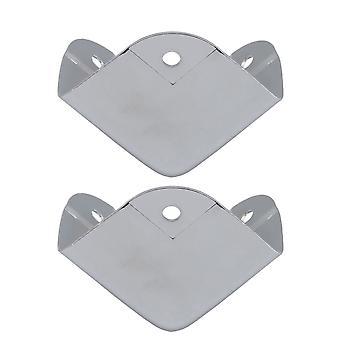 2x Box Corner Protector Hardware Desk Edge Guards for Furniture Box 40mm