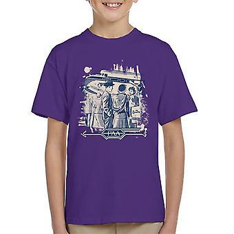 Pan Am The Rainbow Kid's T-Shirt