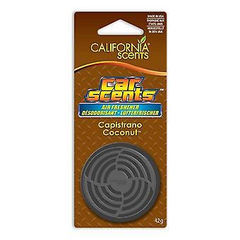 Car Air Freshener California Scents Capistrano Coconut