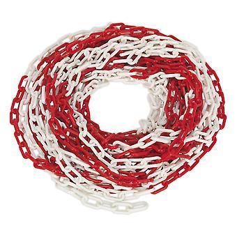 Sealey Hsc25M sécurité de la chaîne 25Mtr rouge/blanc X 6Mm