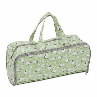 Hobby Gift Knitting Bag with Pin Case: Sheep