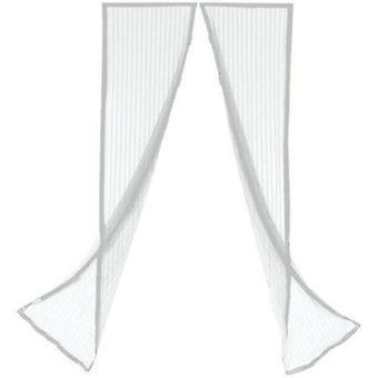 Hyttys verkko ovi 100x220 hyönteis suoja valkoinen magneetti Hyttys verkko