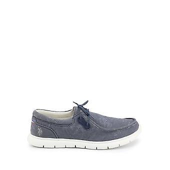 U.S. Polo Assn. - Shoes - Lace-up shoes - LENDL8164S1-C1-DKBL - Men - steelblue - EU 44