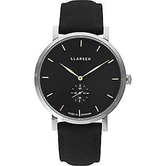 LLARSEN Analogueic Watch Quartz Man with Leather Strap 143SBG3-SCOAL20