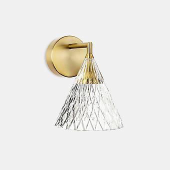 LEDS C4 Veneto LED Glass Dome Shade Oro IP20 6.7W 2700K