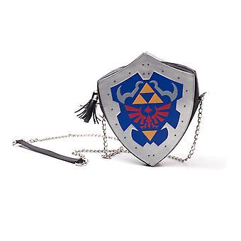 Nintendo - Hylian Shield Naisten muotoinen olkalaukku - Monivärinen