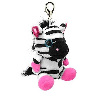 Portachiamiabito Orbys Zebra 8cm Plush