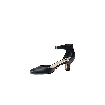 ARRAY Womens charlie Leather Closed Toe Ankle Wrap D-orsay Pumps