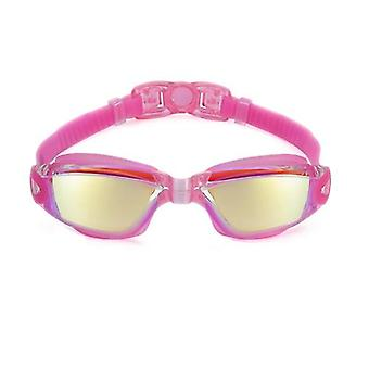 Foldable Electroplating Swimming Goggles