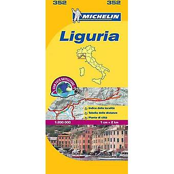 Liguria  Michelin Local Map 352