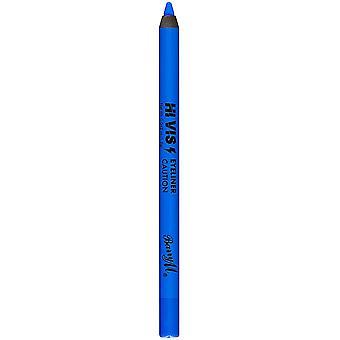 Barry M Hi Viz Neon Bold Waterproof Eyeliner Pencil - 1 Caution Blue