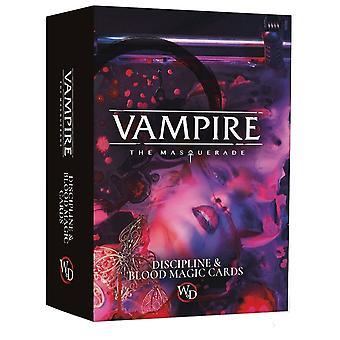 Vampire the Masquerade RPG Discipline & Blood Magic Deck