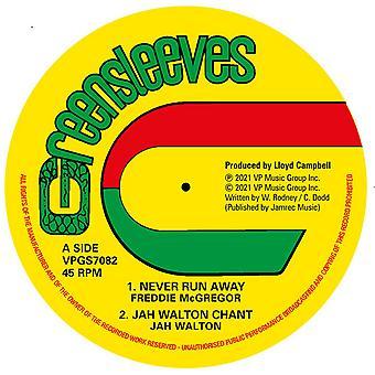 Freddie McGregor / Jah Walton / Dennis Walks / Roots Radics - Never Run Away Vinyl