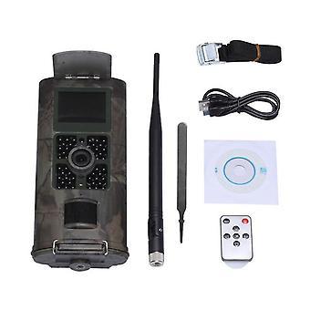 Hc700m cellular hunting camera 2g gsm mms sms smtp trail camera mobile 16mp night vision wireless wildlife surveillance
