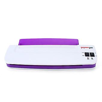 Professional Thermal Office Hot And Cold Laminator Machine For A4 Document