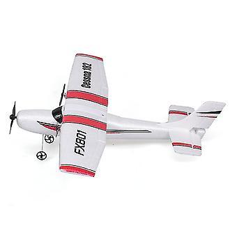 FX801 Самолет Cessna 182 DIY RC Самолет 2,4 ГГц Самолет с фиксированным крылом для детей| RC Самолеты (белый)