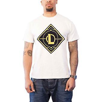 League of Legends T Shirt Gold Logo new Official Mens White