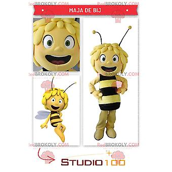 Bela mascote REDBROKOLY.COM Maya, a Abelha