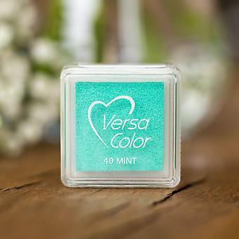 Versasmall Mint Green Pigment Liten Blekk Pad - Pigment Blekk - Craft Blekk