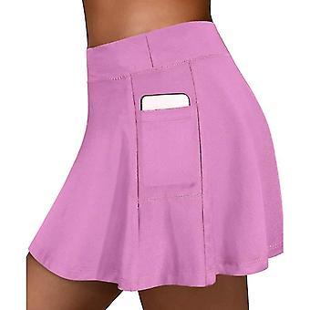 Jupe de sports de tennis femmes avec des shorts et la poche intérieure