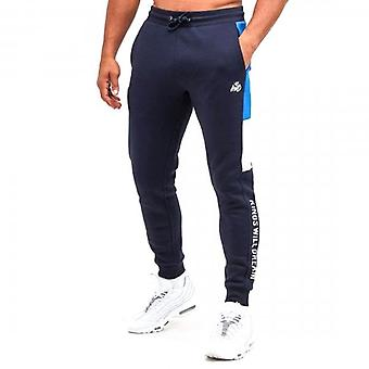 Kings Will Dream Farnell Navy Joggers Bottoms