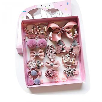 18 Pieces Hair Accessory Set For Kids