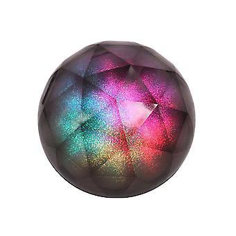 רמקול בהיר צבעוני כוכבים השמיים LED עם כוח על סאב וופר זיכרון  רמקולים ניידים (שחור)